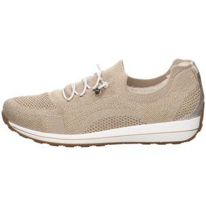 Ara Damen Sneaker Sneaker Low Textil gold 4