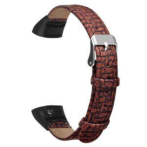 Für Huawei Honor Band 5/4 Leichtes Leder Smart Armband Uhrenarmband FQQ90801113BW