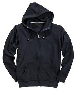 Sweatshirtjacke mit Kapuze von Redfield in Herrenübergröße in navy, Größe:6XL
