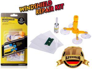 Auto Windshield Repair Kit, Car Kfz Windschutzscheiben Reparaturset Werkzeug for Windshield Chip Repair, Windshield Crack Repair and Glass Repair
