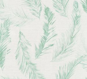 A.S. Création Vliestapete Four Seasons Tapete grün blau grau 10,05 m x 0,53 m 358964 35896-4