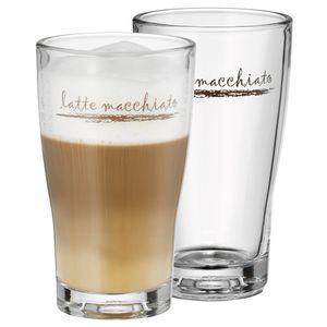 WMF Latte Macchiato Glas, 2er GP 954142040