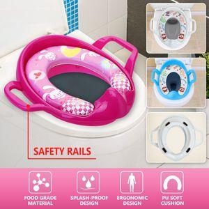 Meco WC-Aufsatz  Weich Gepolstert Toilettensitz Kinder Toilette Trainer Schemel