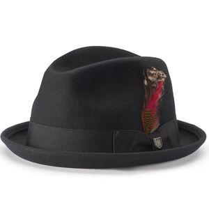 Brixton Mütze GAIN FEDORA, Größe:L, Farben:black