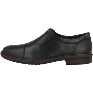 Rieker 17659-00 Herren Schuhe Halbschuhe Slipper extra weit, Größe:44 EU, Farbe:Schwarz