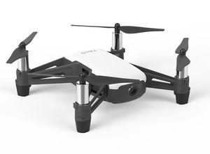 DJI Ryze Tello Kameradrohne 5MP Mini Multicopter Quadrocopter Drone Scratch Weiß, Farbe:Weiß