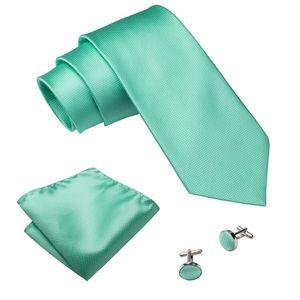 Herren Manschettenknöpfe Set Krawatte für Männer Business-Hochzeit Mens Krawatten -(MJ-371,)