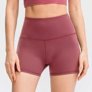 Frauen Sport Shorts Yoga Shorts Einfarbig Camouflage Print Hohe Taille Running Gym Fitness Shorts Sportswear