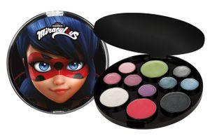 Miraculous Ladybug Makeup Set 11x Lidschatten - Set für Mädchen