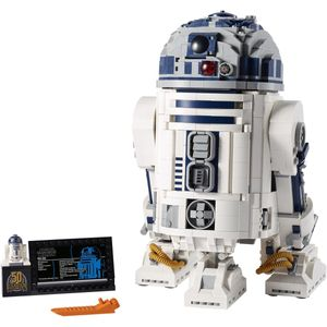 LEGO Star Wars - 75308 R2-D2 Figur zum Bauen mit Lichtschwert Set für Erwachsene