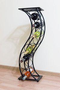 DanDiBo Weinregal Blumensäule Elegance 80 cm Flaschenständer Flaschenhalter Blumenständer