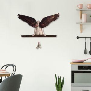 Engel Skulptur 3d Engelsflügel Hängend Statue Kunst Wanddekoration Wohnzimmer Schlafzimmer Deko