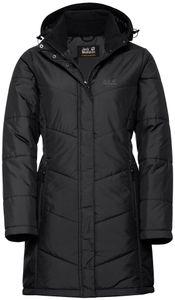 Jack Wolfskin Svalbard Mantel Damen black Größe XXL