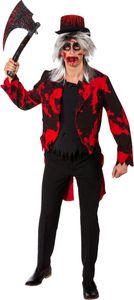 Herren Kostüm blutiger Frack Vampir Psychopath Halloween Gr.48/50