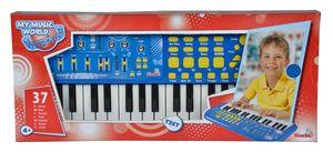 Simba 106834058 - My Music World Keyboard, MMW, 50 x 20 cm 4006592004934