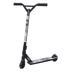 "Apollo Stunt Scooter ""Graffiti Pro 4.0  Kickscooter mit 100mm PolyurethanWheels Funscooter mit ABEC 9 - Schwarz"