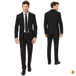 OppoSuits Black Knightherrenkostüm Anzug Polyester schwarz Größe 48