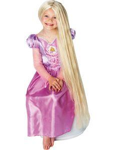 Rapunzel Disney Kinderperücke extrem lang blond