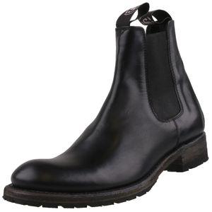 Sendra Herren Stiefelette 5595 Schwarz, Schuhgröße:EUR 42