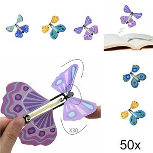50x Magic Butterfly DIY Magischer Spielzeug magischer fliegender Schmetterling