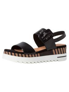 Marco Tozzi BY GUIDO MARIA KRETSCHMER Damen Sandalette schwarz 2-2-88700-26 F-Weite Größe: 39 EU