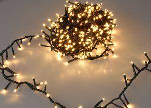 Weihnachts Lichterkette 1000 LED - EXTRA warmweiß