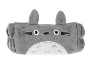 Kuscheliges Stirnband mit Ohren für Totoro Fans | Grau