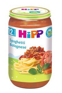 HiPP Menüs ab 1 Jahr, Spaghetti Bolognese, DE-ÖKO-037 - VE 250g