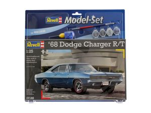 Revell Model Set 1968 Dodge Charger - Auto-Modellbausatz; 67188