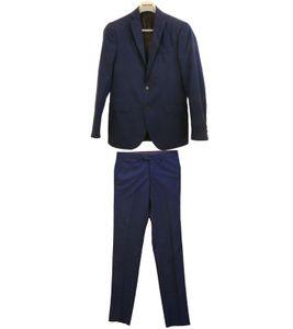 engelhorn SELECTION Oxford Business-Anzug eleganter Herren Smoking Regular Fit Dunkelblau, Größe:46