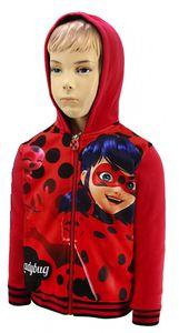 Ladybug Kinder Hoodie Kapuzenpullover Pullover Sweatjacke ROT Gr. 104