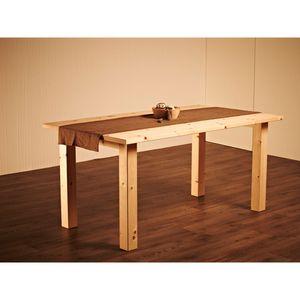 Massiver Holztisch 'Tablein' - im Landhaus-Stil Zirbe natur 160x 90x75