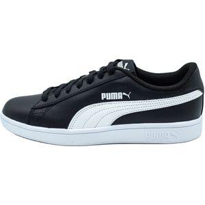 PUMA Smash v2 L Low Boot Sneaker Schwarz-Weiss Schuhe, Größe:41