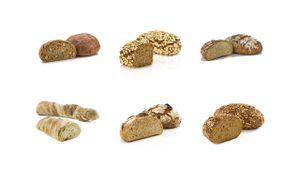 Vestakorn Bäckermeister Brot Auswahl, 6 Handwerksbrote - Sauerteigbrote mit 24 Stunden Teigruhe