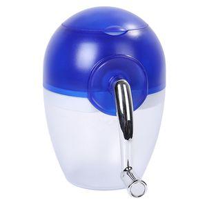 Ice Crusher Eiscrusher Eiszerkleinerer für Küche zubehör Blau modern wie beschrieben