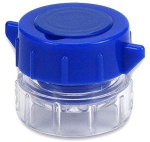 Tablettenmörser WUNDmed Pillenmörser Mini Zerkleinerer Tablettenfach Box