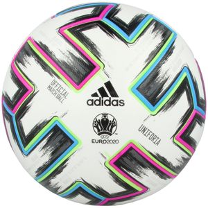 adidas Fußball EM 2020 Uniforia Pro White / Black / Signal Green / Bright Cyan 5