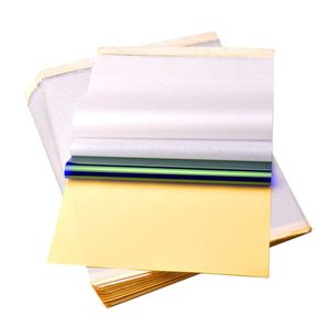 100 Packung Tattoo Papier Vorlagen Transferpapier Matrizenpapier Tätowierung Set
