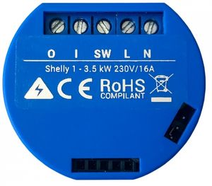 Shelly 1, WLAN Schalter, 1 Stück