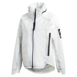 adidas Damen Regenjacke MYSHELTER RAIN Parley Weiß XS