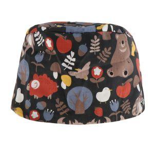 Uni Kappe Erwachsene Kochmütze Atmungsaktive Beanie Bistromütze Mütze Uniform für Kochen Radsport Farbe Tiere