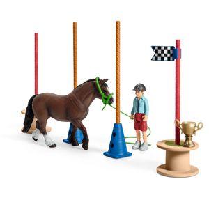 Schleich Pony Agility Rennen, 42482