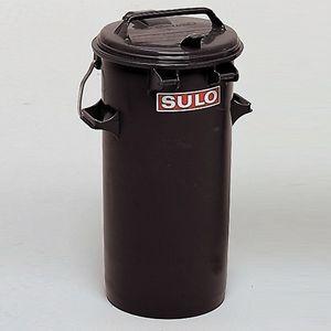 Systemmülleimer, 50 Liter, mit Verschlussbügel und Tragegriffen