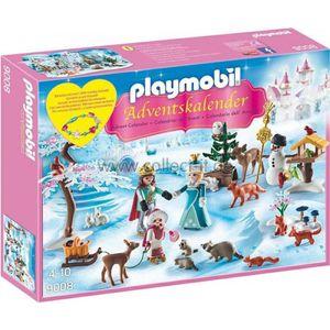 "PLAYMOBIL 9008 Adventskalender ""Eislaufprinzessin im Schlosspark"""