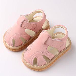 Neugeborene Mädchen Mädchen Jungen römische Schuhe Sandalen First Walker Soft Sole Schuhe Größe:20,Farbe:Rosa