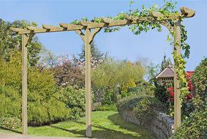 Pergola Garten Kiefer kdi 9x9x450cm