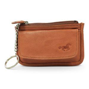 Safekeepers Lederschlüsseltasche - Schlüsseletui Cognac ja