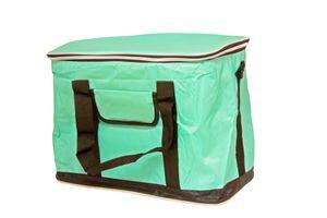 Picknick Kühltasche XXL Grün 30 Liter