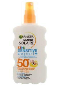 Garnier - UV-Sonnenspray - Ambre solaire Kids Sensitive expert+
