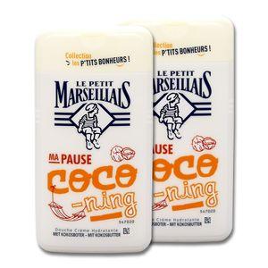Le Petit Marseillais Duschcreme Kokosnussbutter, 2 x 250 ml